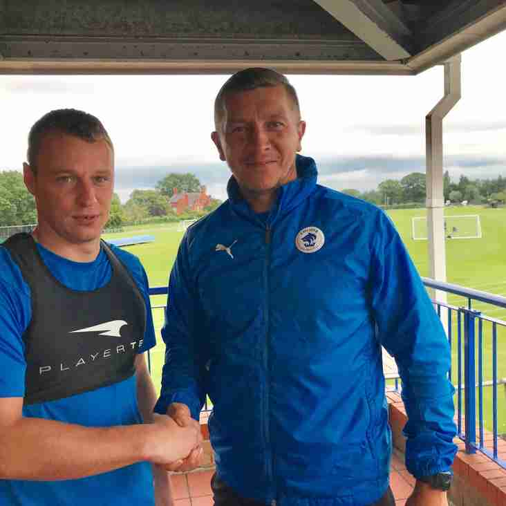 Roberts Fighting Fit And Gets New Chester Deal