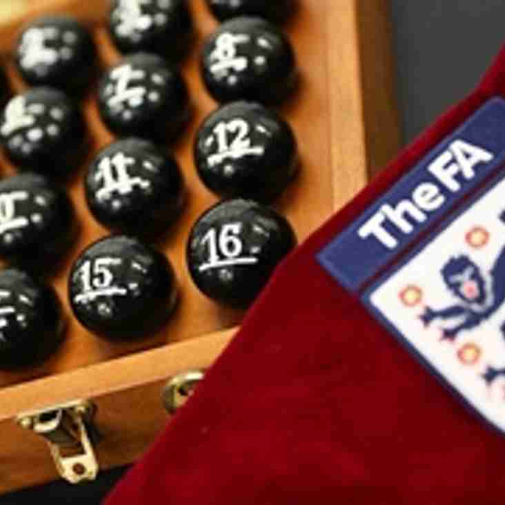 The Draw For The FA Cup First Round Has Tonight Been Made