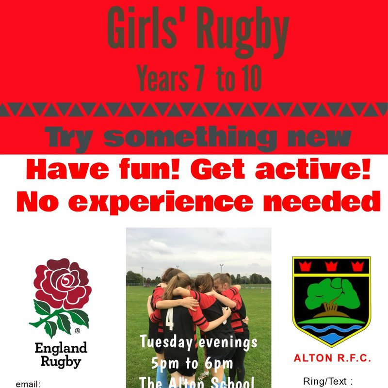 Girls Rugby Opportunity