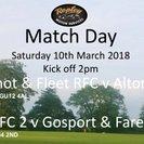Alton RFC 1st XV Win Away at Aldershot & Fleet