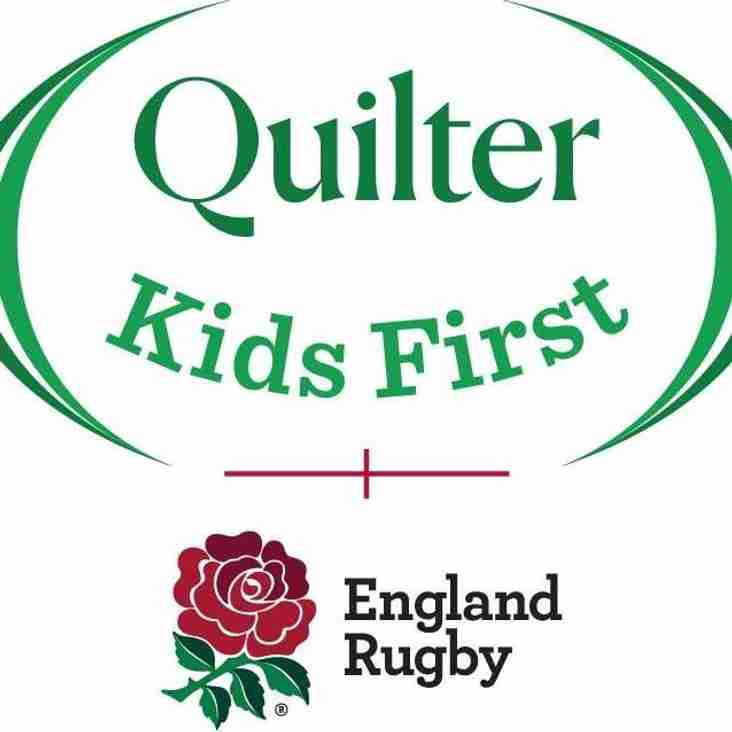 Quilter Kids First Refereeing children