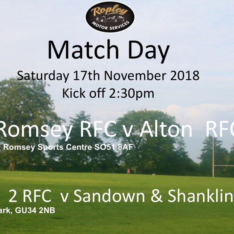 Romsey vs. Alton