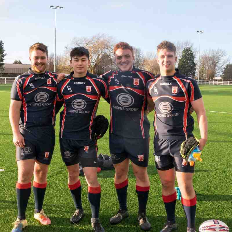 Hampshire u20 players