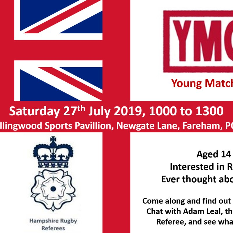 Young Match Official information day