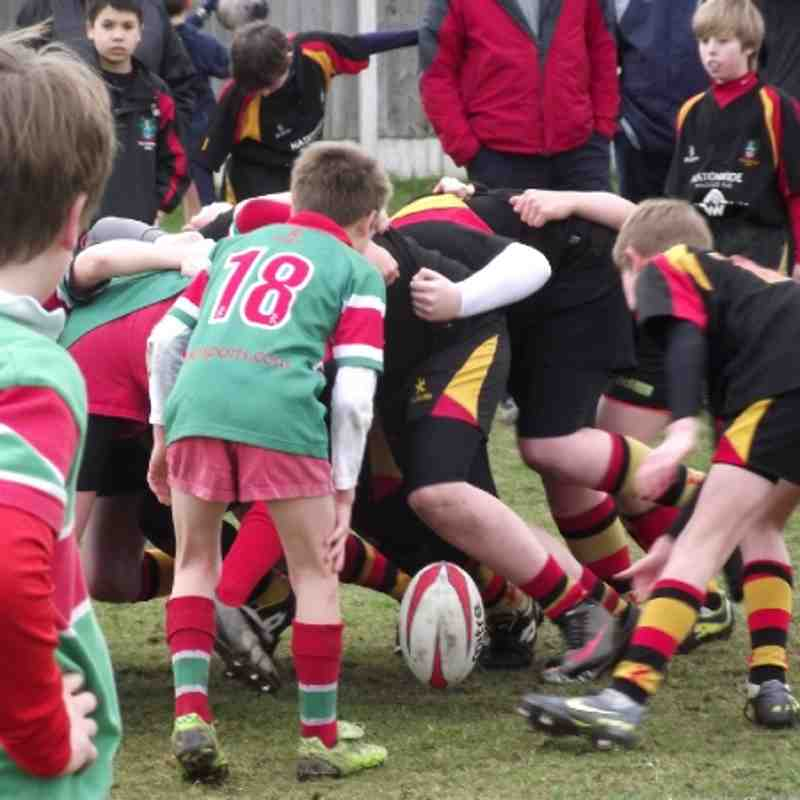 U12s v. Warrington (26.02.12)
