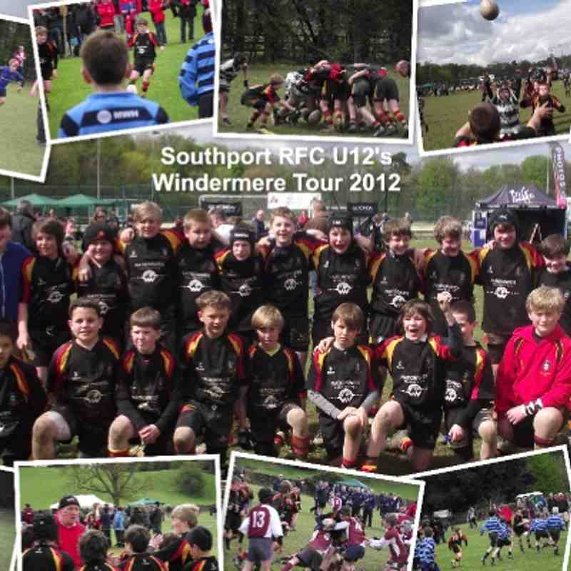 2012 Mini Windermere Tour (U12s)