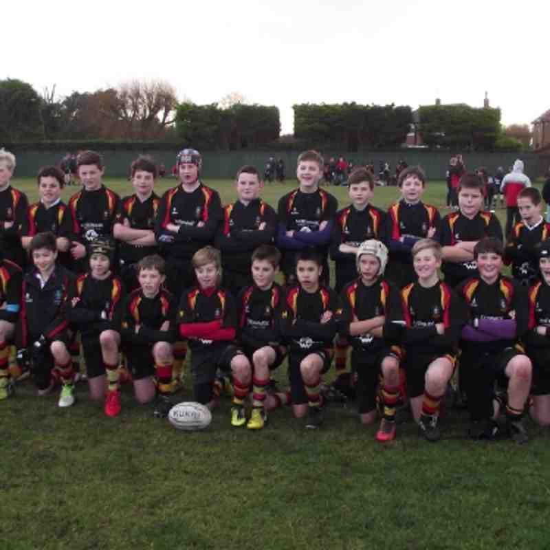 U13s v. Waterloo (09.12.12)