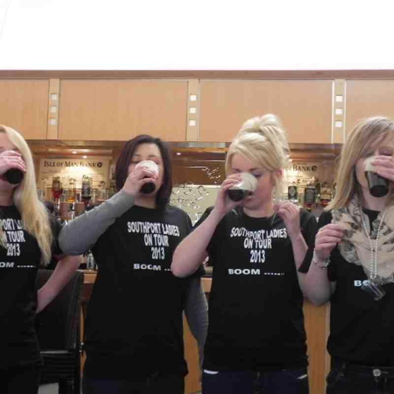 Ladies IOM Tour (Easter 2013)