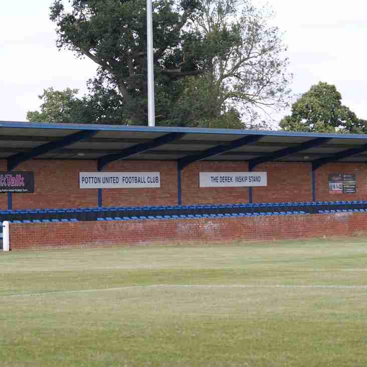 Potton United Club Statement