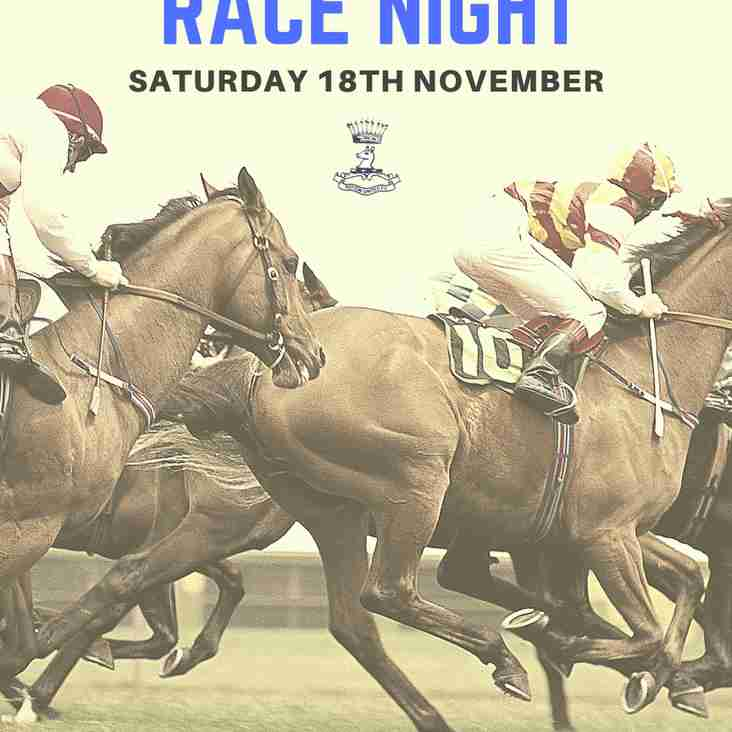 Potton United Race Night 18th November