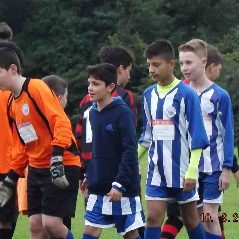 U13 White Barton rovers vs Thatcham harriers