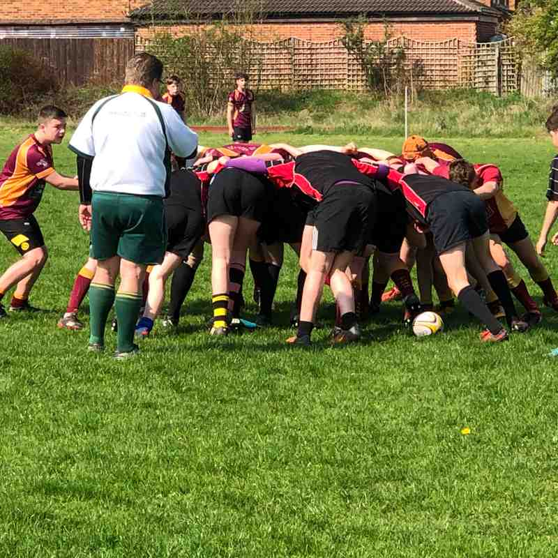 Under 14's Daventry v Tows April 2018