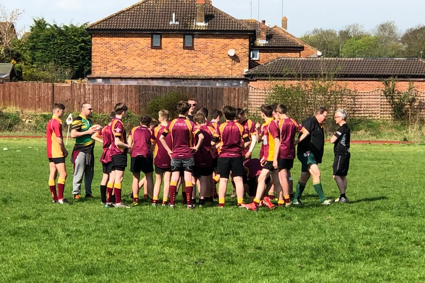 Under 14's Convincingly win against Daventry