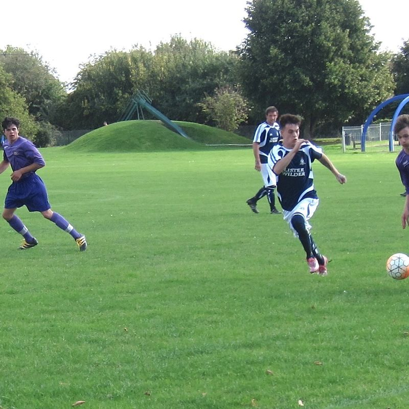 Letcombe Reserves First Game of The Season