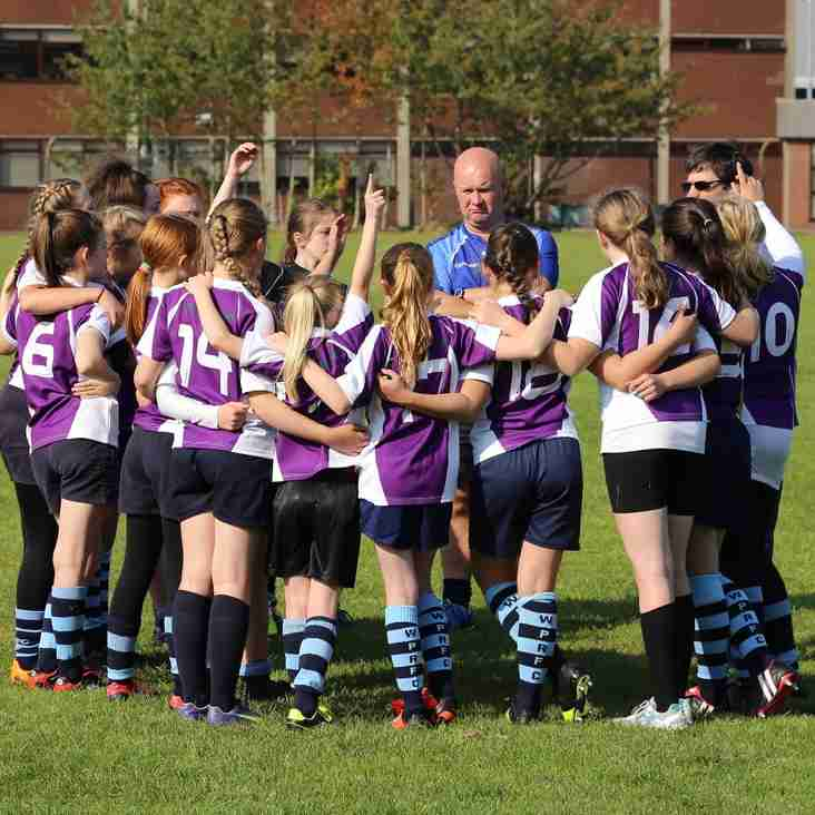 Moving forward - more positive changes for Girls and Ladies rugby at Park