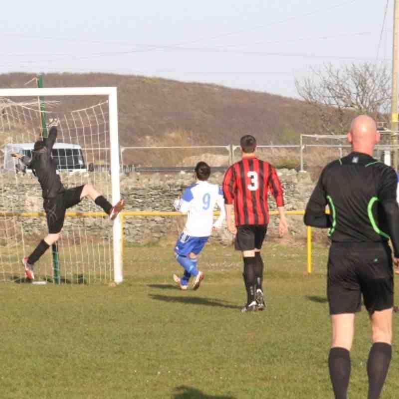 Treaddur Bay v LLan (0-1) Gwynedd shield 16/04/13