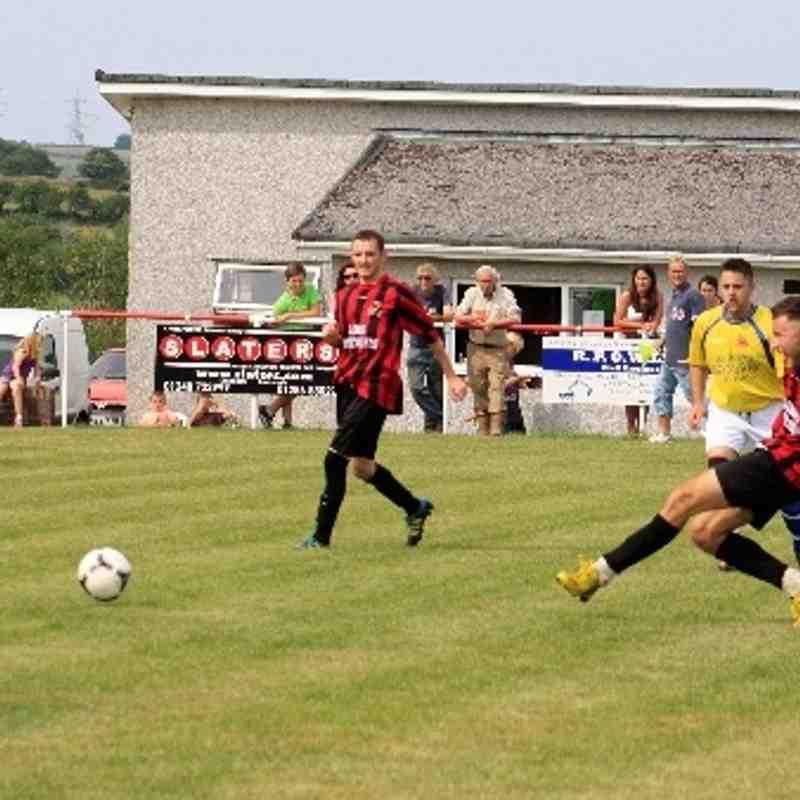 friendly LLan v Nantlle Vale (6-2) 27/07/13