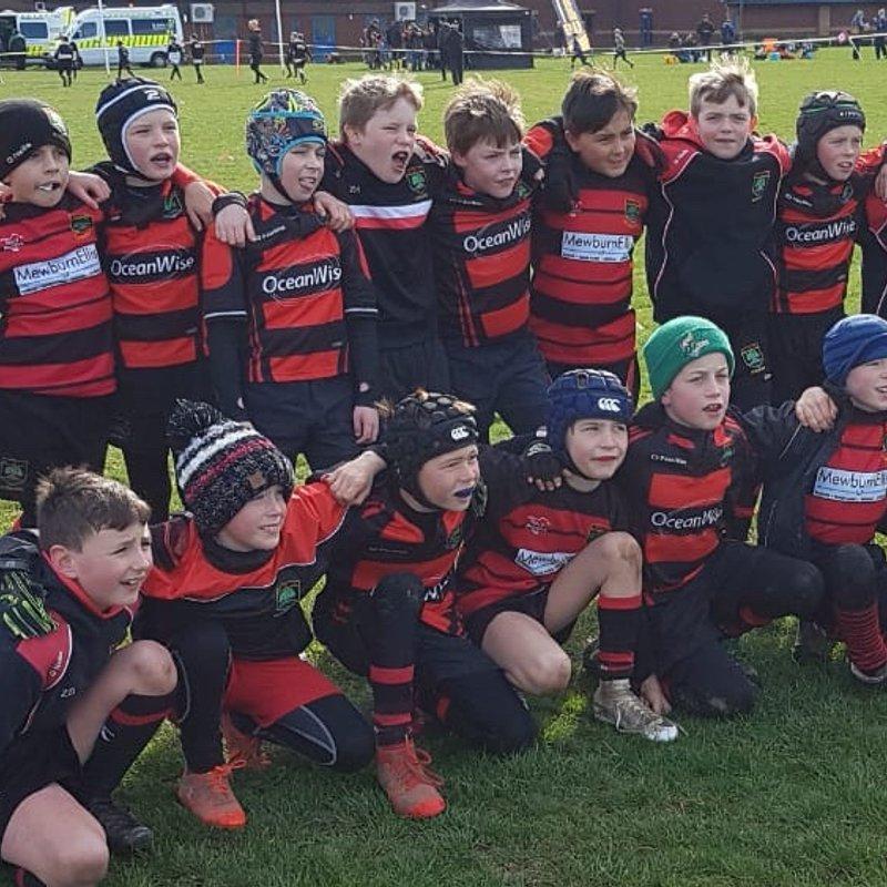 Alton RFC U9s enjoy success at the Under 9 Hampshire Cup
