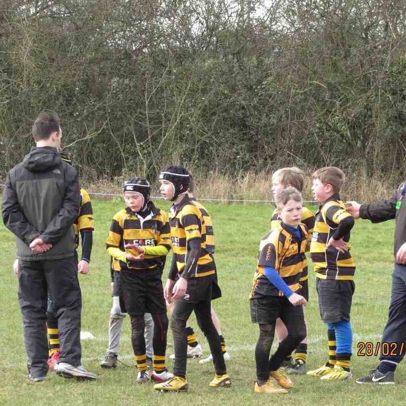 U11s v Oadby Wiggs Part 1