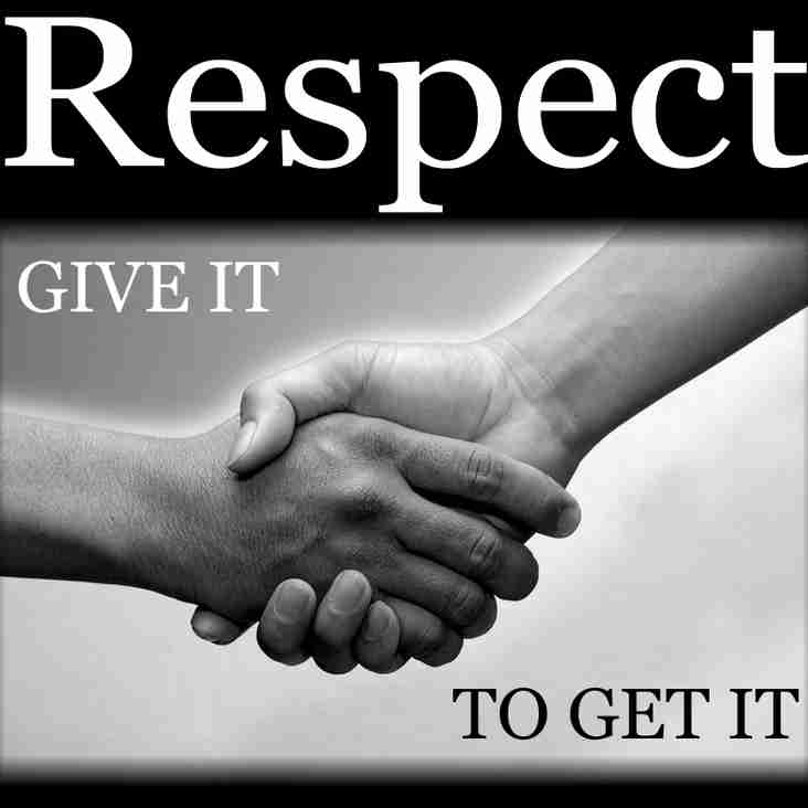 Respect for Referees