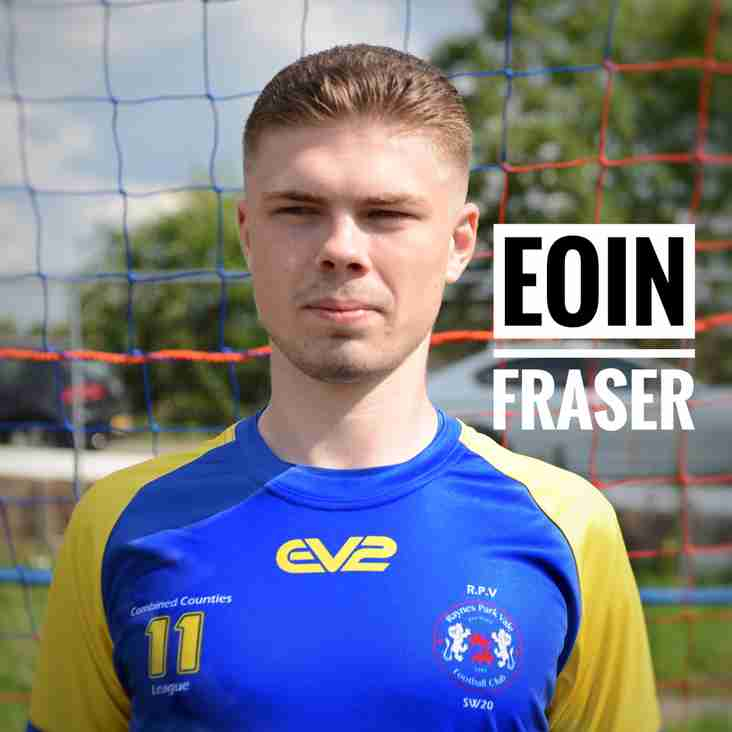 Eoin Fraser Player Profile