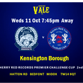 Vale go down to Kenbo 4-3 in Cup