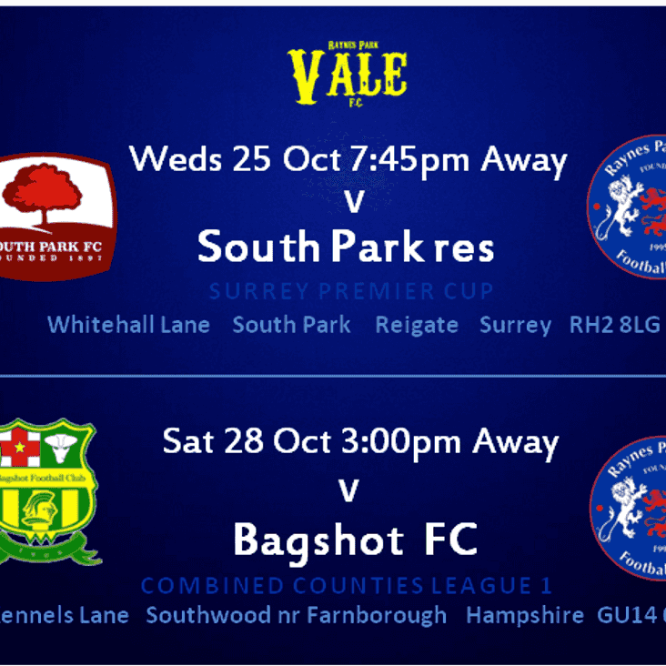 Saturday Baghot in the League. Away