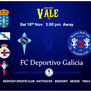 FCD Galicia 1 Vale 4