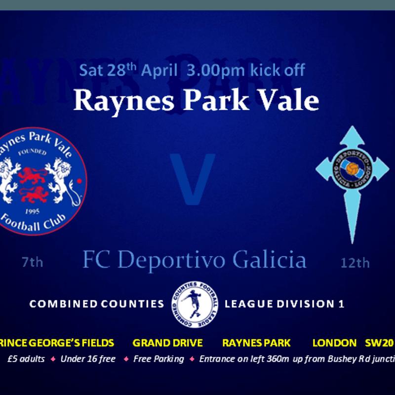 RPV 1 -  Deportivo Galicia 0