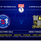 Vale 3 Abbey Rangers 0
