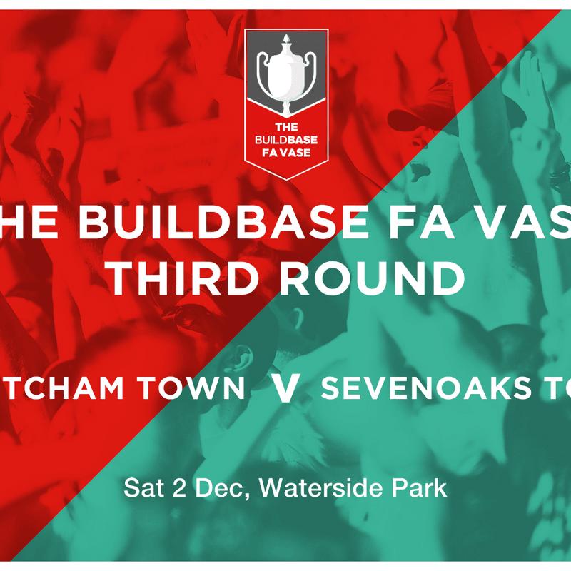 Thatcham Town Football Club vs. Sevenoaks Town FC