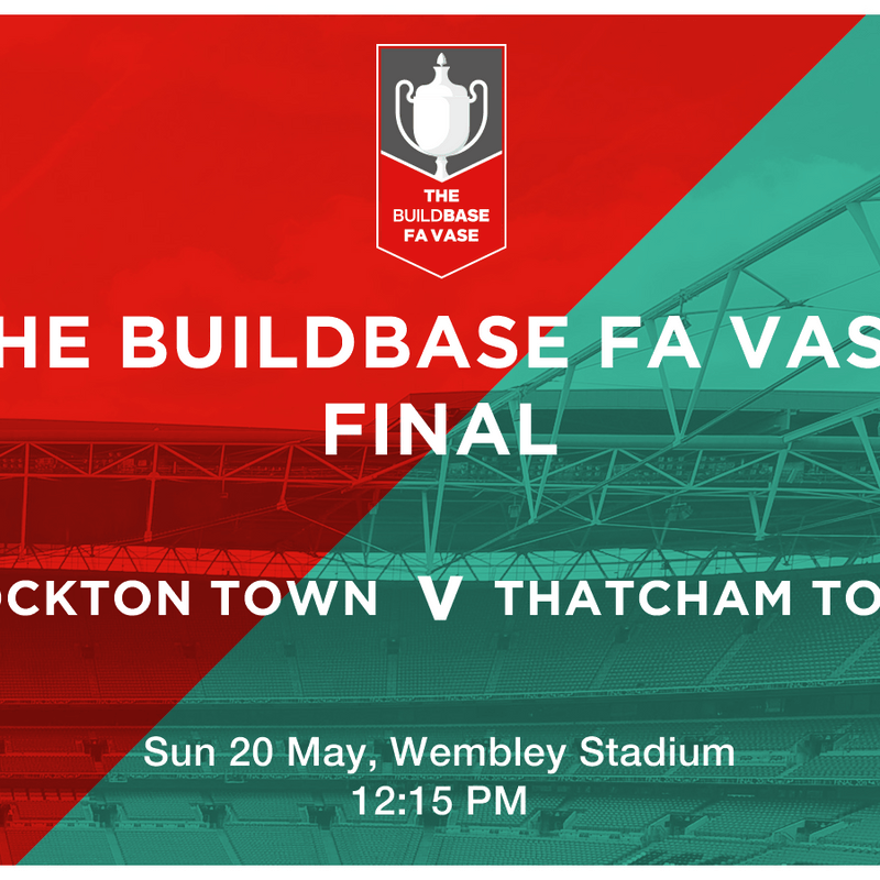 FA Vase final tickets and travel