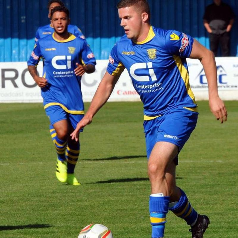 Robinson adds prolific striker to ranks