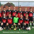 Under 11's Black - Nik beat Greenhill JFC 2 - 0