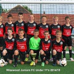 Wisewood Juniors U11's Black 2014-15
