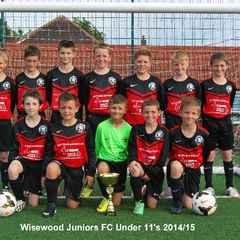 Wisewood Juniors v Sheffield Rangers