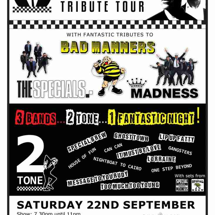 2-Tone Tribute Tour Ticket Offer