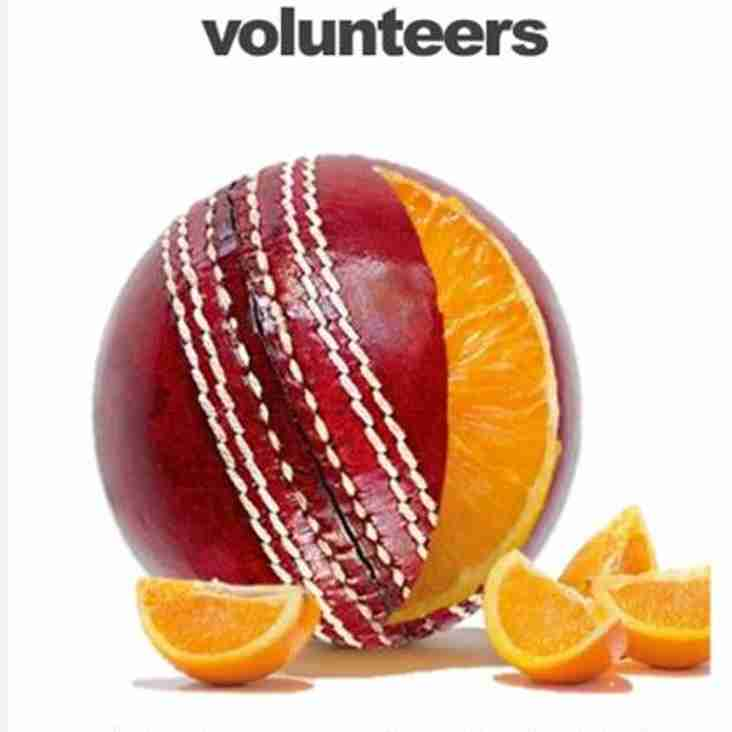 Without volunteers Hartshorne Cricket club would not exist