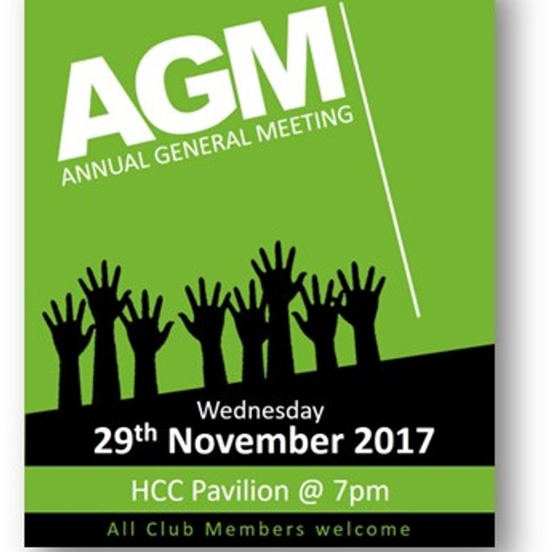 HCC Annual General Meeting