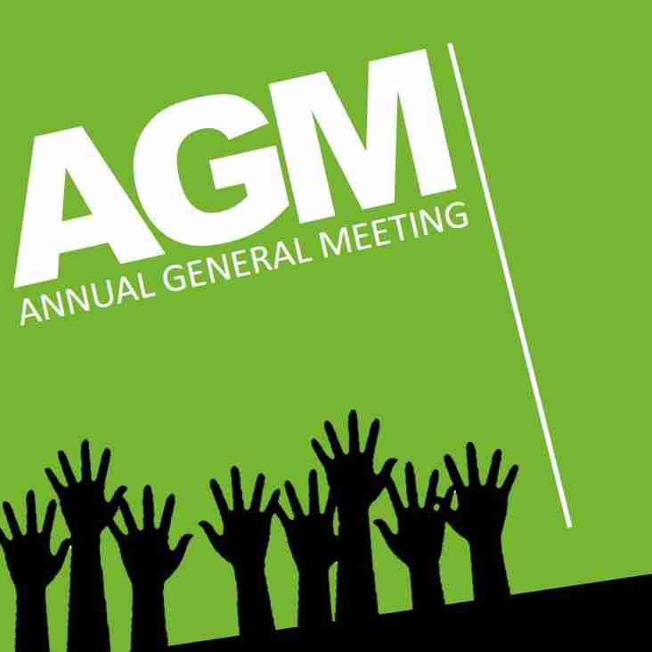 PAPERS NOW AVAILABLE - 2017 Annual General Meeting, to be held 30 Nov 2017, 7pm in Pavilion