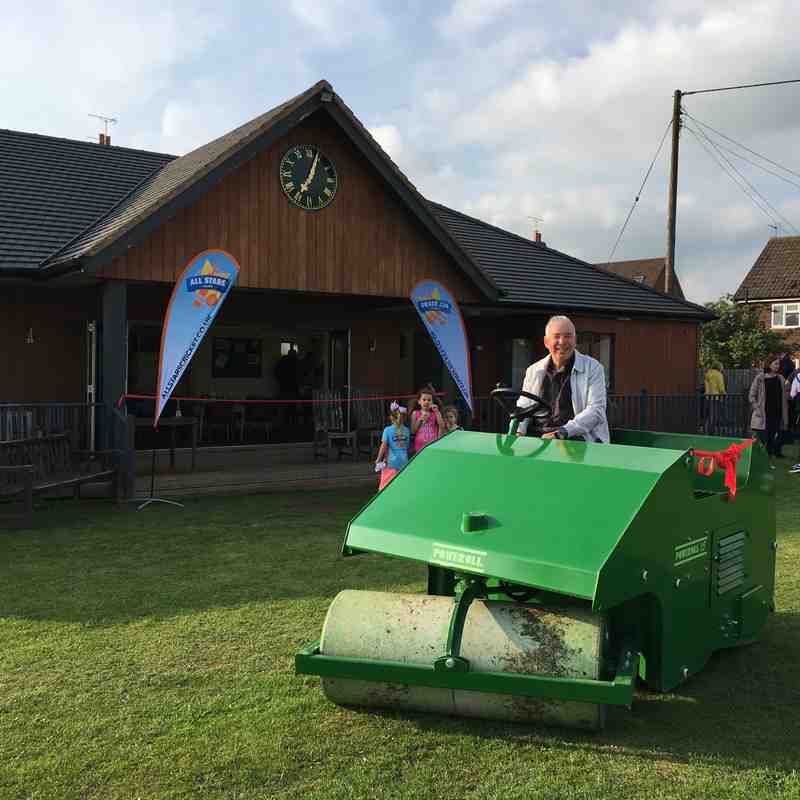 Grand Opening of the Cricket Pavilion 8.6.18