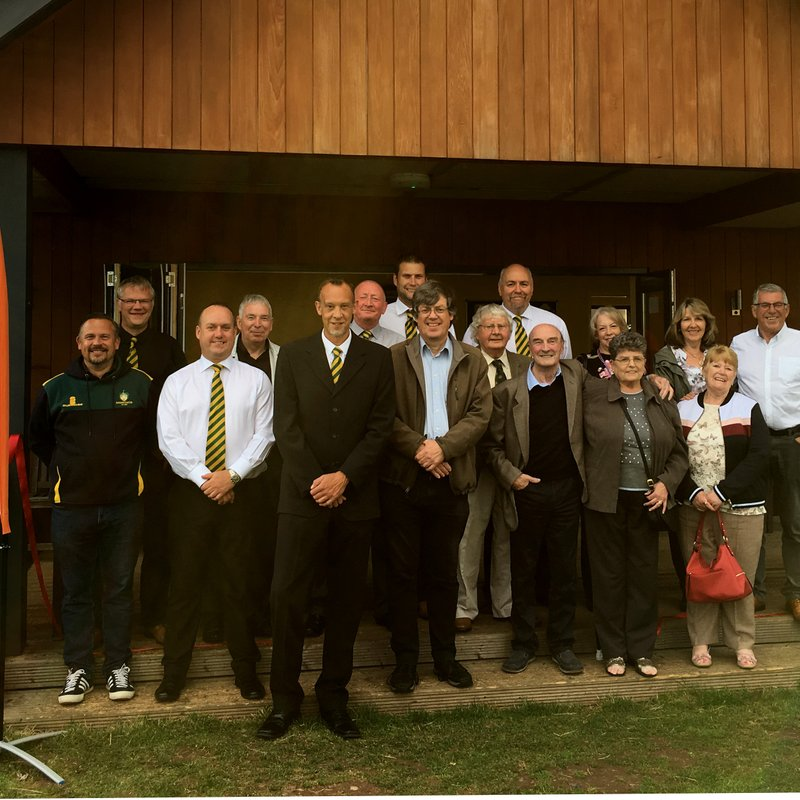 Grand Opening of the Cricket Pavilion