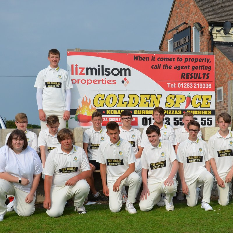 Hartshorne CC under 17s v Walmley CC under 15s A 11.6.18