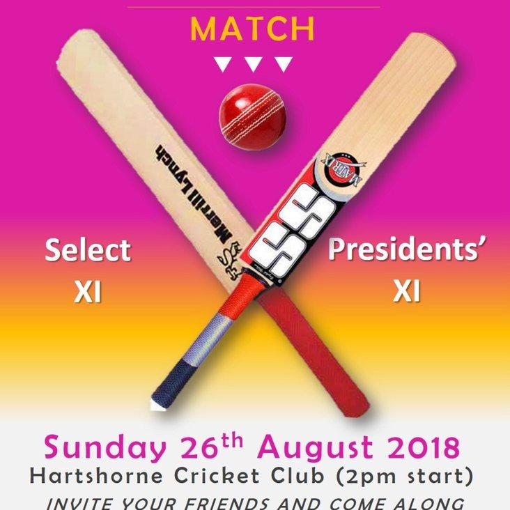Charity Cricket Match<
