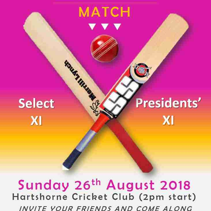 Charity Cricket Match