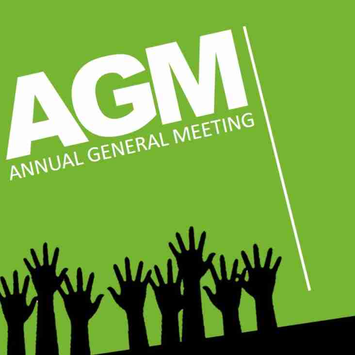 SAVE THE DATE - HCC AGM