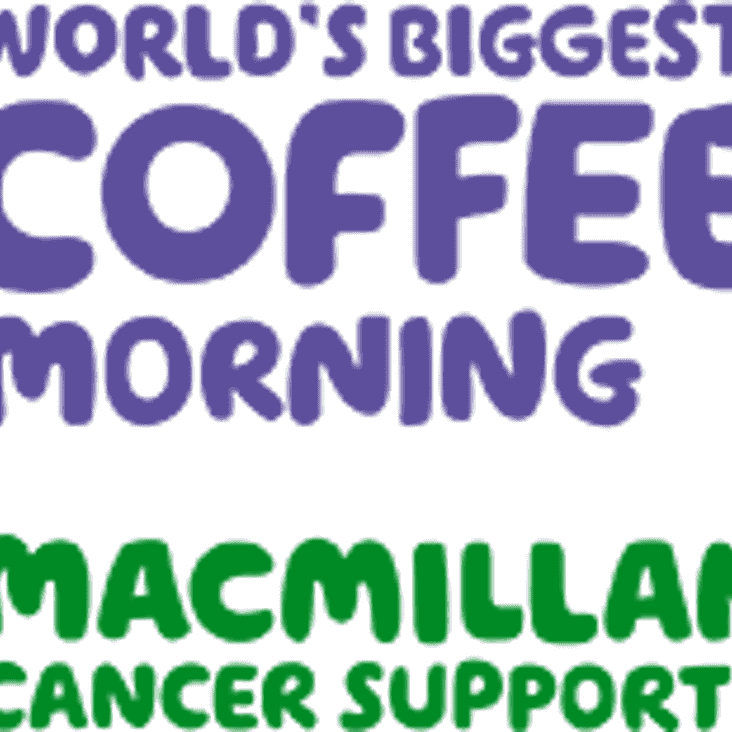 Massive thank you - Macmillan Coffee Morning