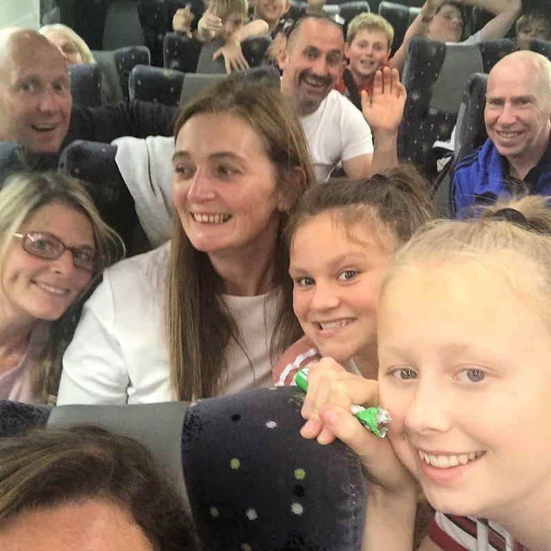 Hartshorne Cricket Club juniors day trip to the seaside