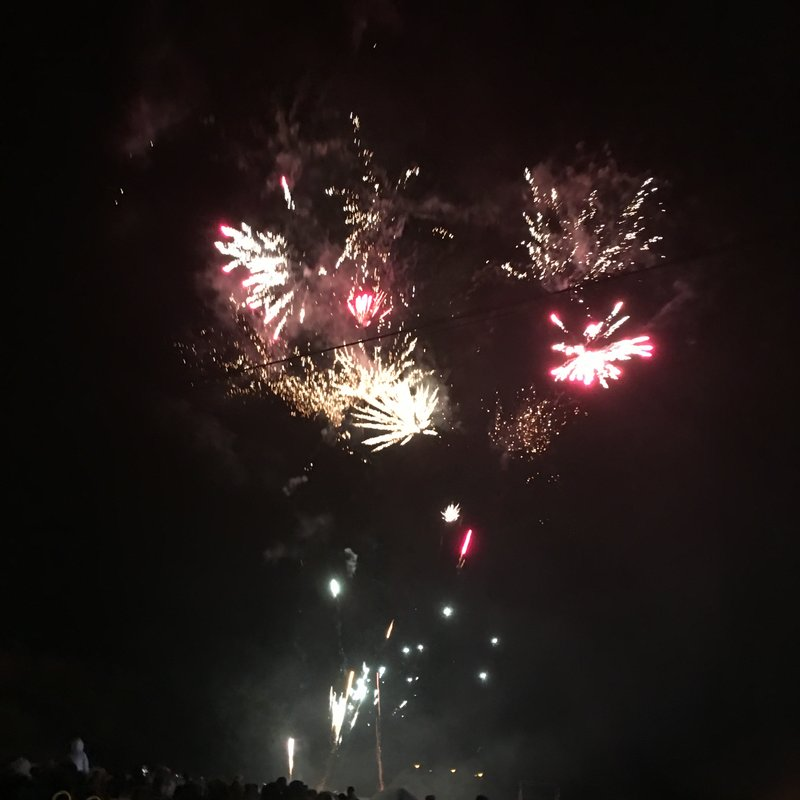 What a fantastic fireworks spectacular!