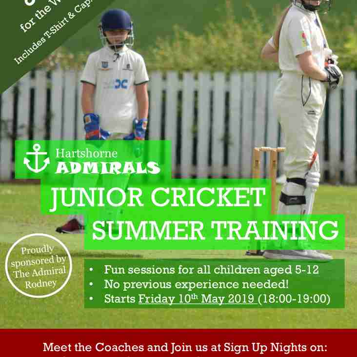 A SUMMER OF FUN - IF YOU ARE 5 - 12 YEARS OLD COME AND JOIN HARTSHORNE ADMIRALS!